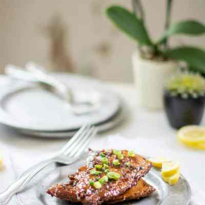 Earl Grey Balsamic Glazed Salmon Recipe
