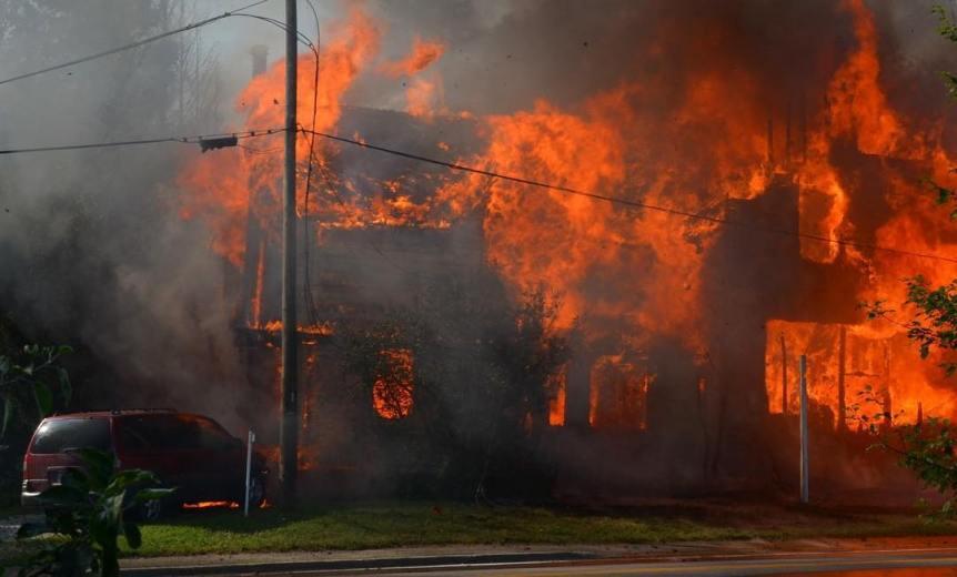 Davidson Family Fire