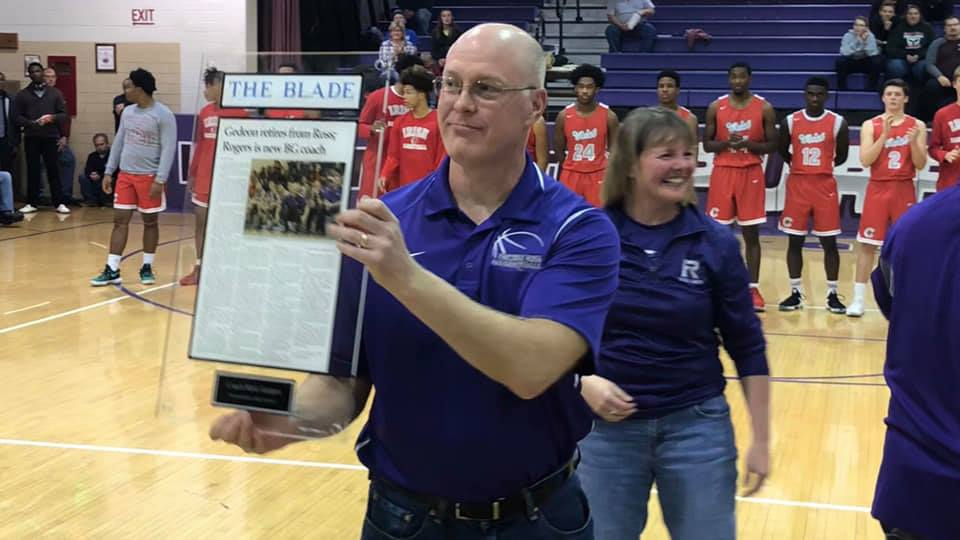 Mark Gedeon recognized for 32 years of dedication to Little Giant program
