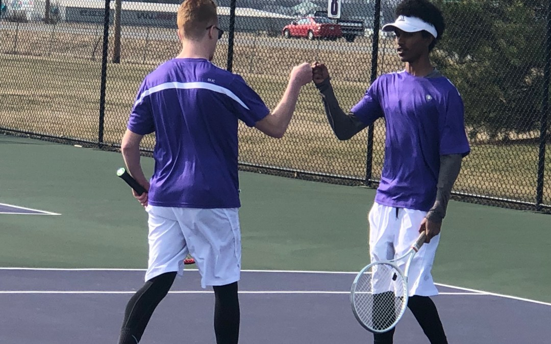 Little Giant tennis picks up hard-fought first win of the season