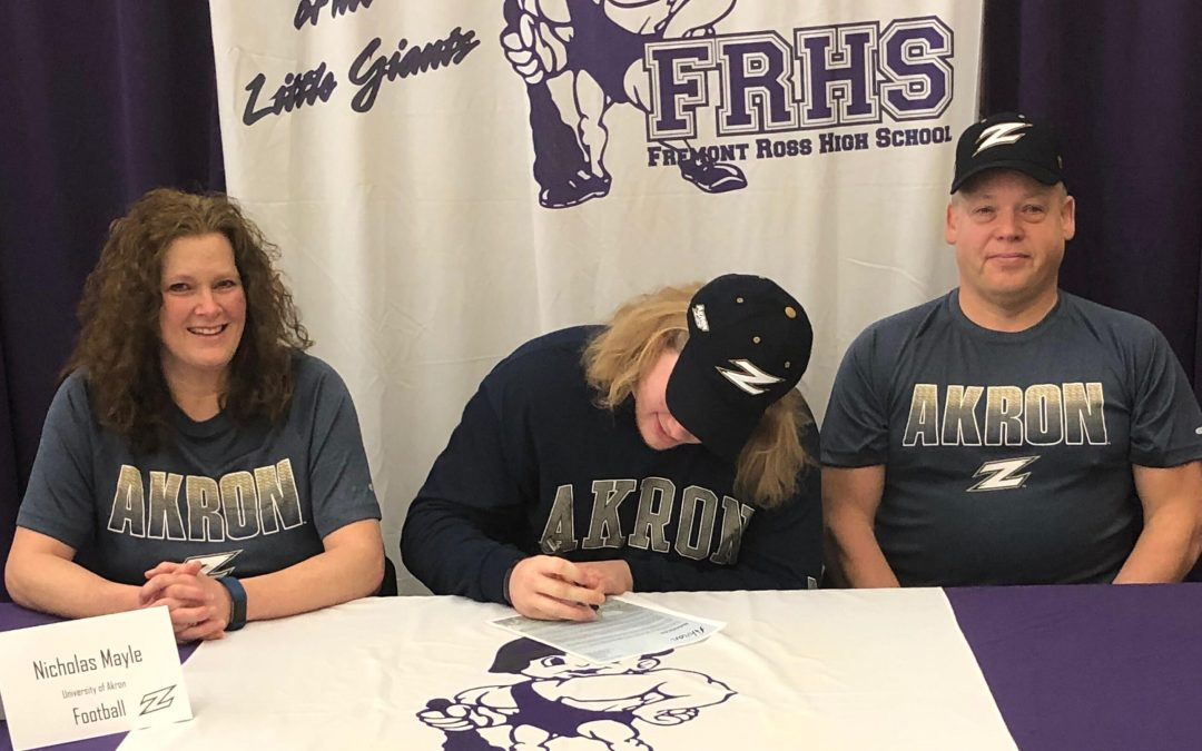 Nicholas Mayle to take his shot at Division I football at Akron