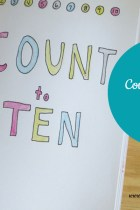 Make a Counting Book for Baby