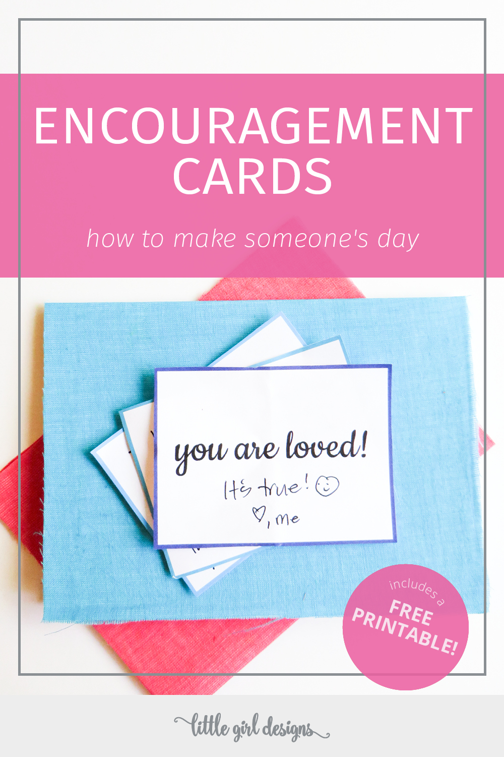 picture regarding Printable Encouragement Cards named Encouragement Playing cards Moreover a No cost Printable Jennie Moraitis