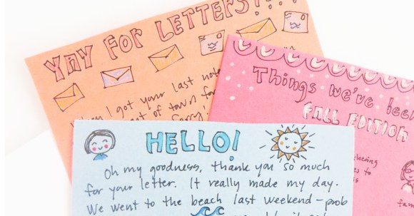 April is Letter Writing Month! | Ideas for Writing Letters | Jennie Moraitis