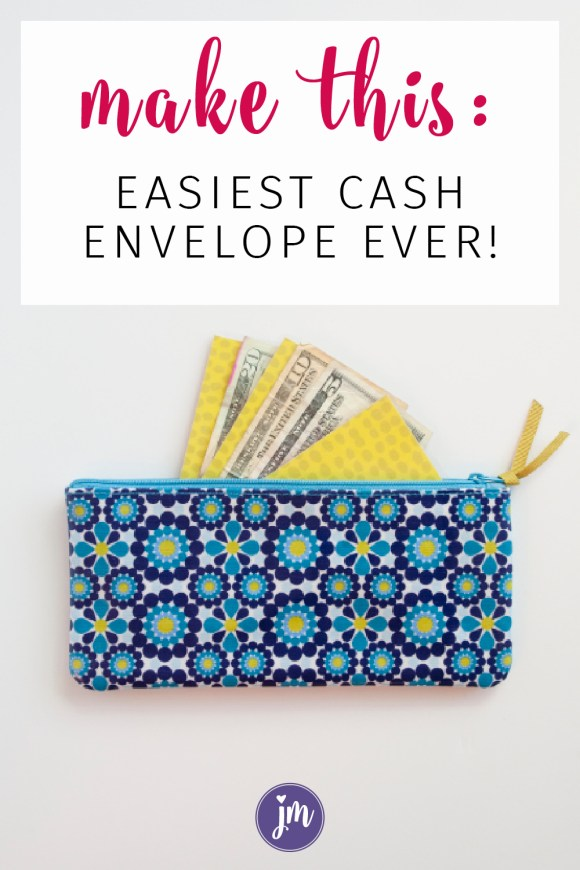 Learn how to make your own DIY Cash Envelopes that last! If you're starting out using cash envelopes with Dave Ramsey's Financial Peace system, you might be using several different business-sized envelopes to hold your cash. That's fine until the envelopes get worn out or you tire of hauling around 15 envelopes wherever you go. I created this super easy cash envelope system after seeing my mom's system and LOVE it. So easy to make even a non-crafter can do it!