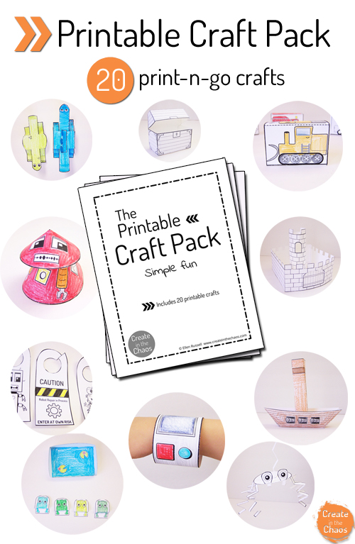 photo about Printable Crafts known as Printable Crafts for Little ones - Jennie Moraitis
