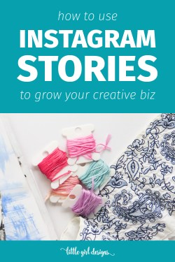 How to Use Instagram Stories to Grow your Creative Biz - Instagram stories is the newest kid on the blog for social media fun. Have you tried it? It can seriously help you grow your business as a creative. Here are some tips and hints about what it can do for you!