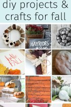 20 Gorgeous DIY Projects and Crafts for Fall