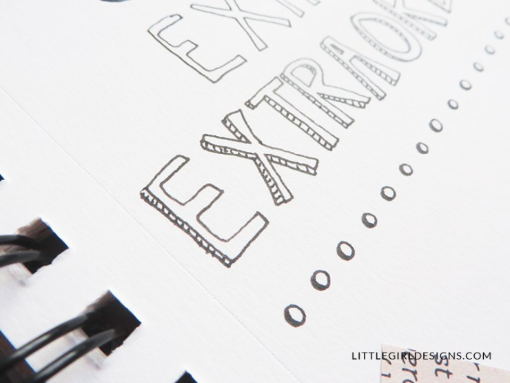 Learn how to hand-letter your favorite quote even if you don't have calligraphy skills. Here are several different ideas for hand-lettering inspiration. p.s. Hand-lettered quotes make great gifts for Christmas and Mother's Day! :)