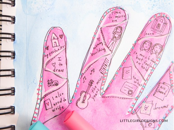 Memories in Your Hand Map - Jennie Moraitis on
