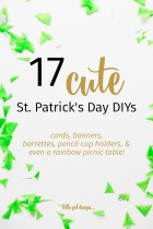 17 Cute St. Patrick's Day DIYs