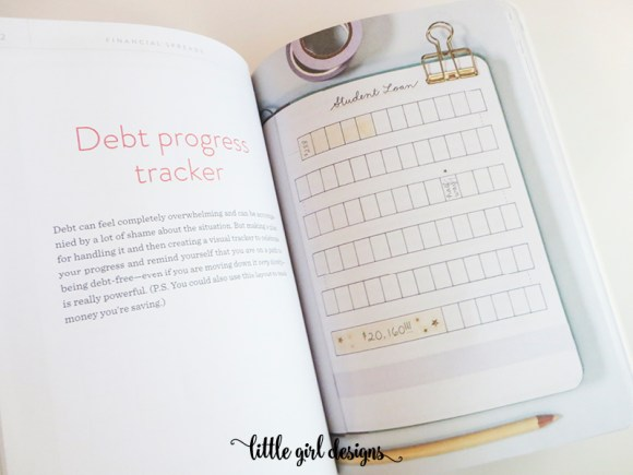 Um, yes. I need this debt tracker in my bullet journal. (Courtesy of Dot Journaling: A Practical Guide)