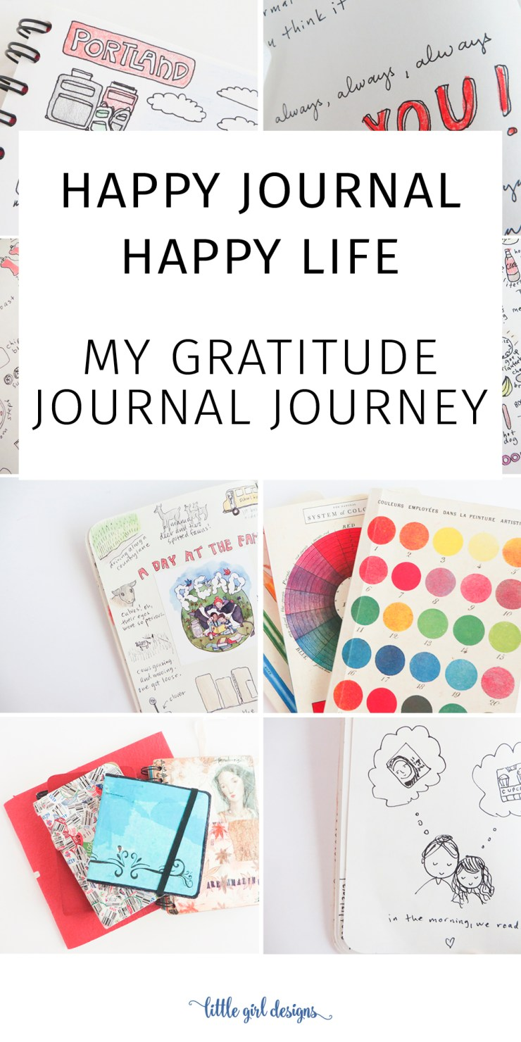 Little girl designs by jennie moraitis creativity matters have you ever kept a gratitude journal how about a happy journal this ebook fandeluxe Epub