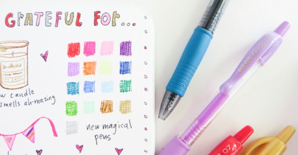 Oh my goodness, these G2 pens are soooo wonderful! I swatched them out immediately and love the vibrant colors. #ad #PilotPenBackToSchool #PowerToThePen #CollectiveBias @Target @pilotpenUSA