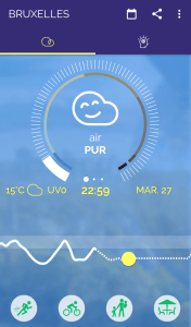 application plume air report