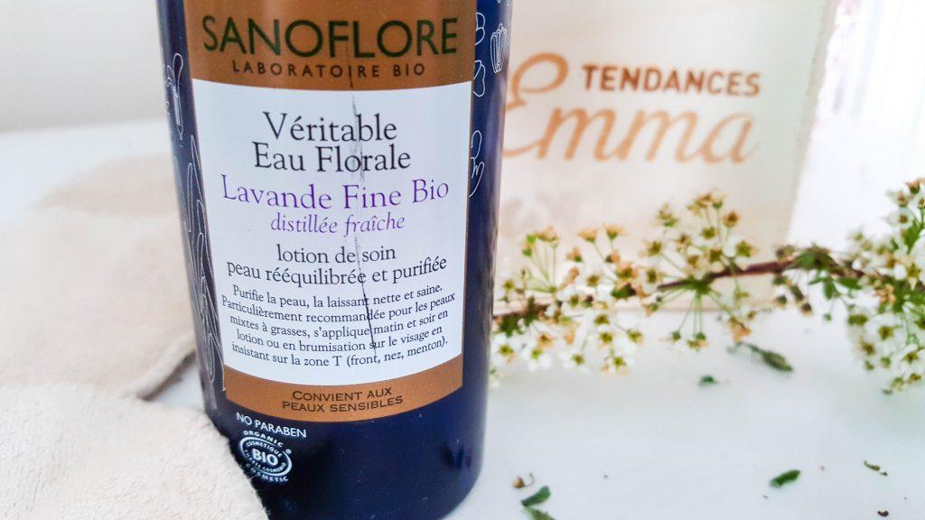 sanoflore eau florale lavande