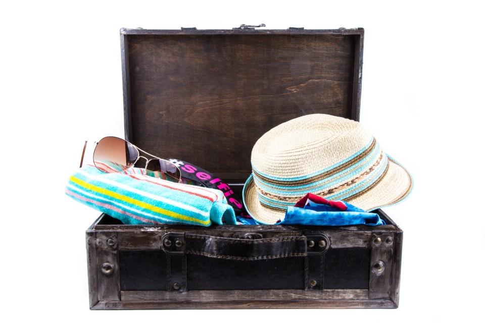 voyage aux bahamas valise minimaliste