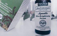 Les produits de la marque Antipodes sont certifiés bios en grande majorité, c'est le cas du sérum que j'ai testé. Ils sont également vegan : non testés sur les animaux, et exempts d'ingrédients d'origine animale et d'OGM.