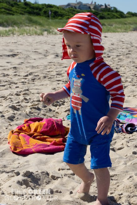 Frugi-beachwear-swimming-costume-and-hat