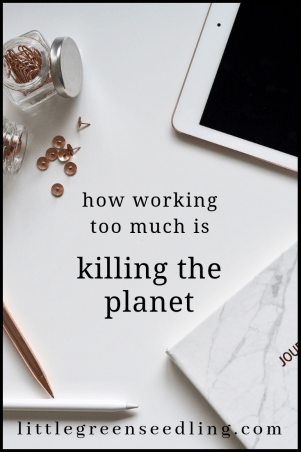 What's the connection between #climatechange and workers' rights? How working too much harms the planet as well as our #health. #sustainability #mentalhealth