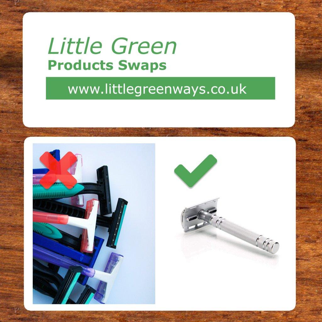 Little Green Razor Swap