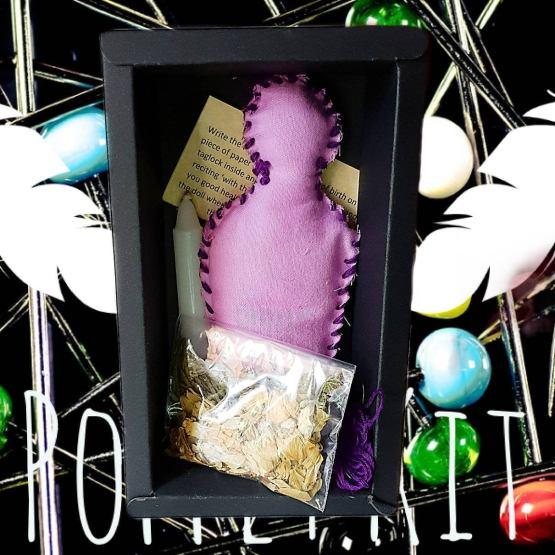 voodoo doll poppet kit