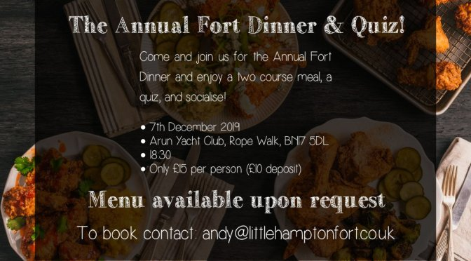 Request – Annual Social Fort Dinner