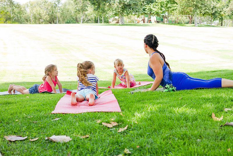 Little Heroes Yoga Cobra Pose