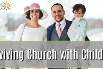 How to Survive Sitting Through Church with Children