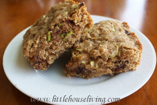 Post image for Chocolate Chip Zucchini Cookie Bars