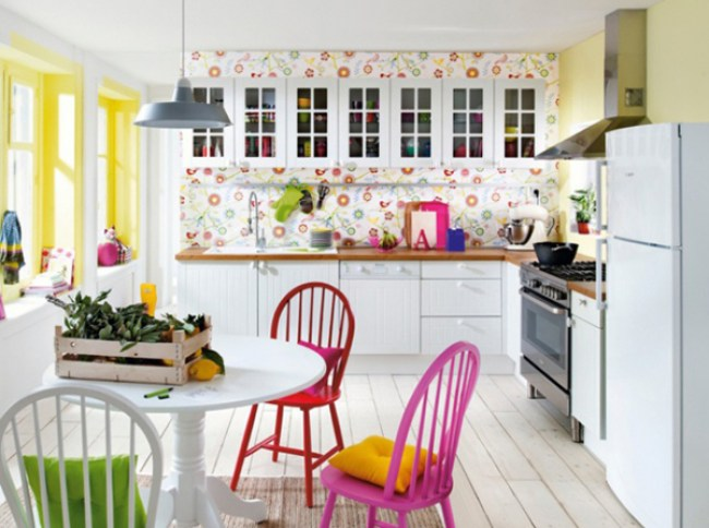 10 Ways to Use Color in a Small Kitchen - little house of could Kitchen Ideas Pop Of Color Wall Paper on kitchen floor covering ideas, kitchen tables ideas, kitchen painting ideas, kitchen brick ideas, kitchen rugs ideas, kitchen windows ideas, kitchen decor ideas, kitchen paneling ideas, kitchen doors ideas, kitchen bathroom ideas, kitchen blinds ideas, kitchen wallpaper designs, modern small kitchen design ideas, kitchen electrical ideas, kitchen wood ideas, kitchen photography ideas, kitchen mirror ideas, kitchen art ideas, kitchen signs ideas, kitchen furniture ideas,