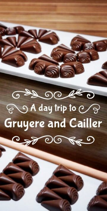 gruyere and cailler