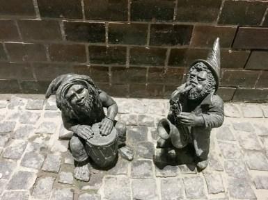 Wroclaw Poland Rynek Dwarfs
