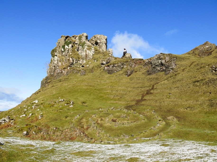 Isle Of Skye Scotland Highlands Travel Fairy Glen