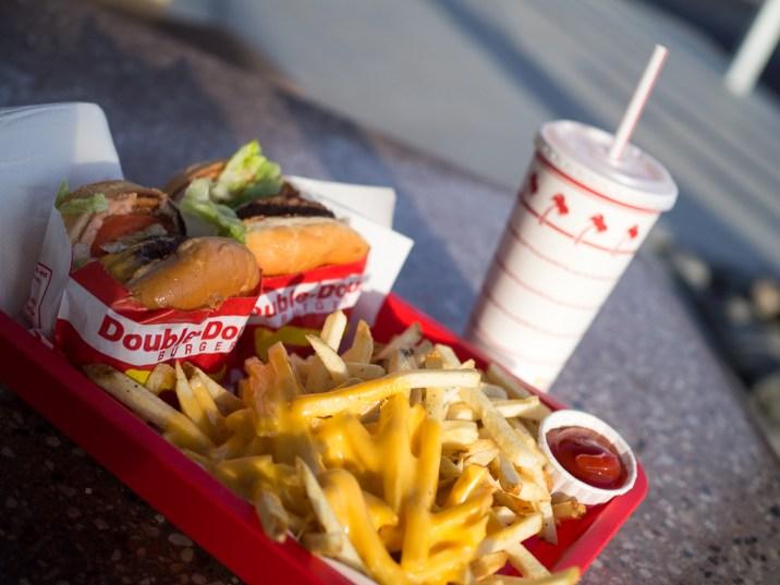Travel San Diego California USA In N Out Burger