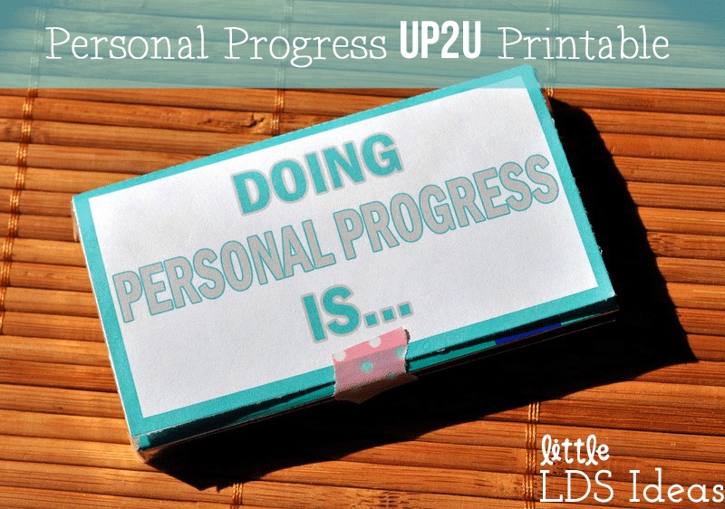 UP2U Personal Progress Tag