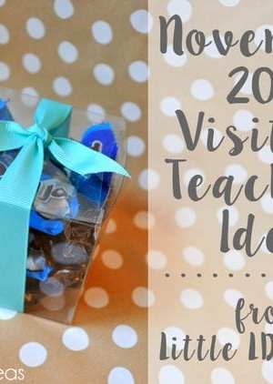 General Conference Visiting Teaching Treat Idea
