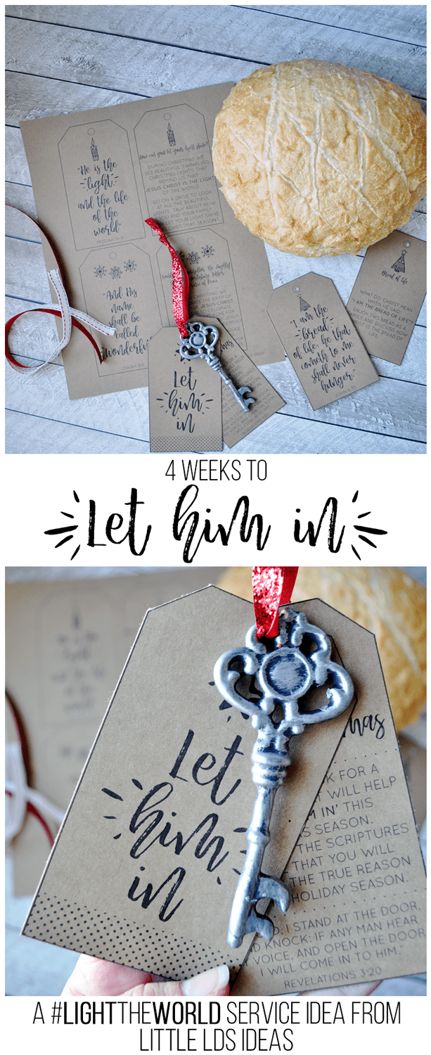 #LIGHTtheWORLD with this great family service activity. Printable and instructions found on Little LDS Ideas