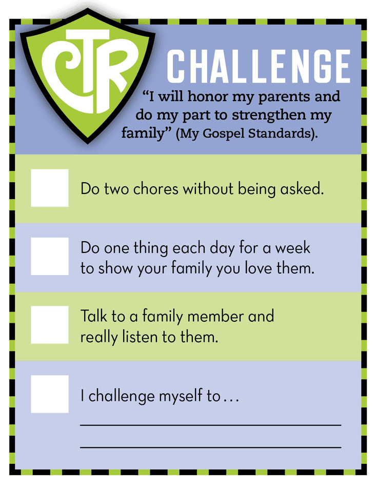 CTR Challenge Card
