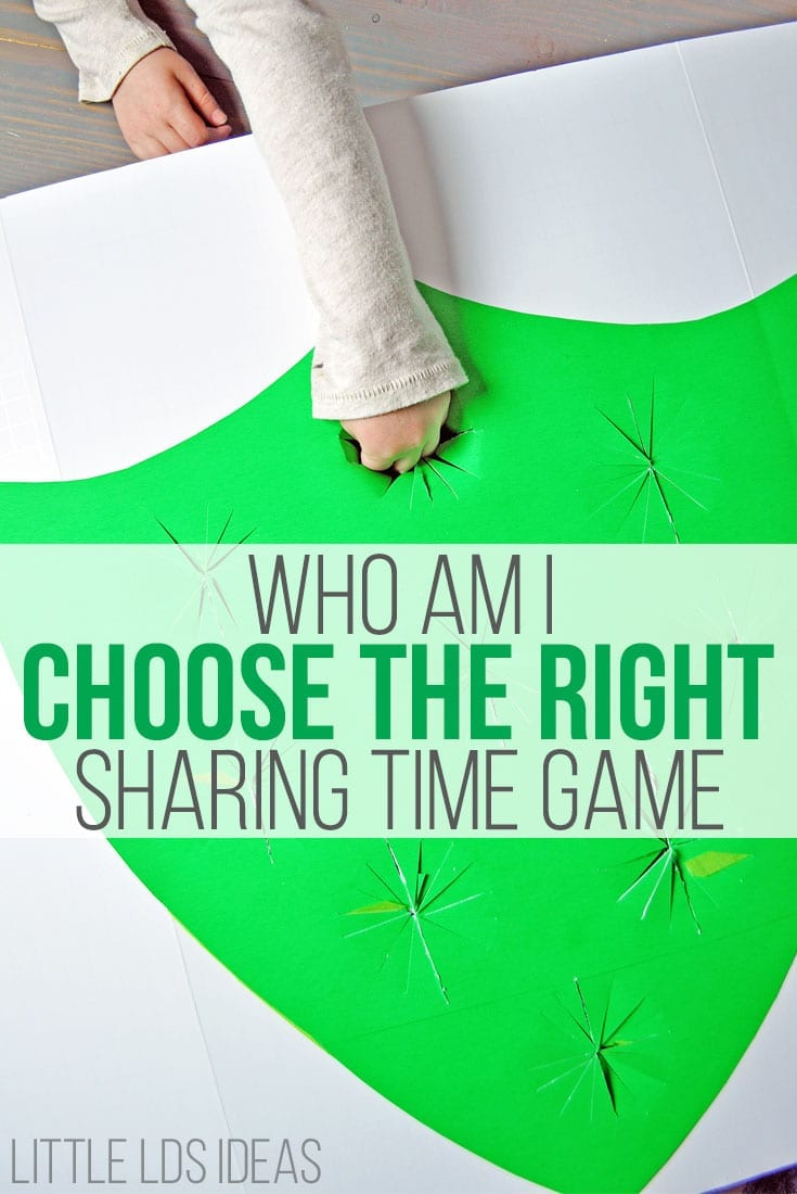 primary sharing time games archives little lds ideas