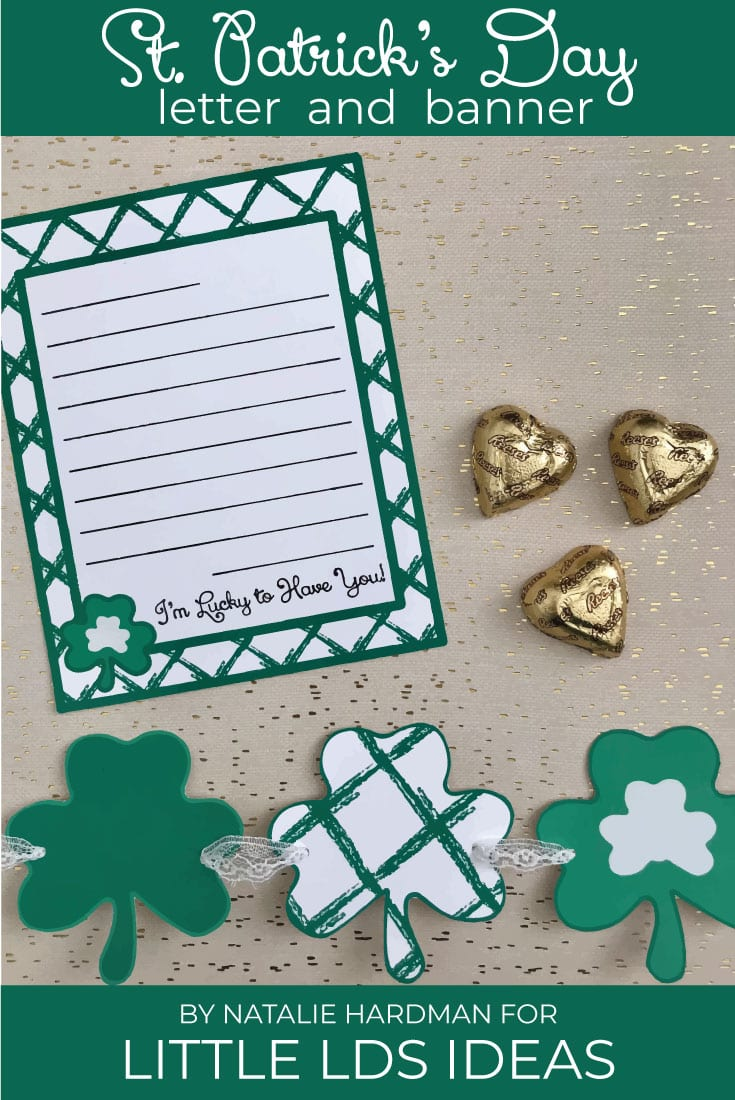 LDS Activity Day Ideas. These St. Patrick's Day Letter and Banner Printables would be so fun as an LDS Activity Days activity or for a fun Family Home Evening. Free printables created by Natalie Hardman for Little LDS Ideas. #LDSActivityDays #LDSFHE #LDSPrintables #StPatricksDay