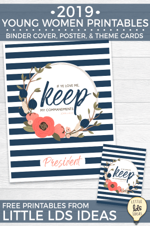 Young Women 2019 Printables