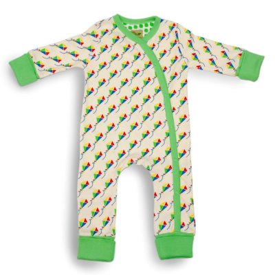 Kites Baby Grow Picture Organic Cotton