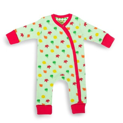 Leaves Baby Grow Organic Cotton Picture
