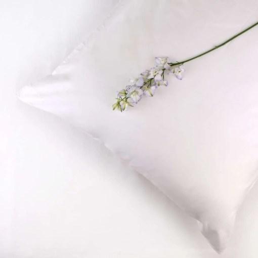 100% Organic Cotton Pillowcase Standard Style in White
