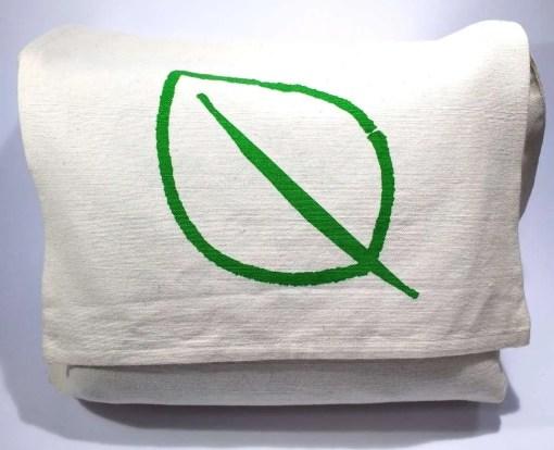 100% organic cotton shoulder bag