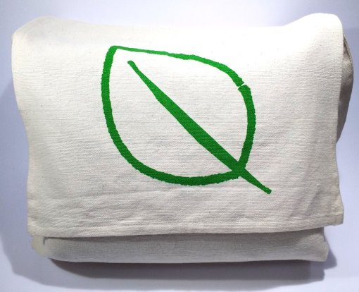 100% organic cotton shoulder bag
