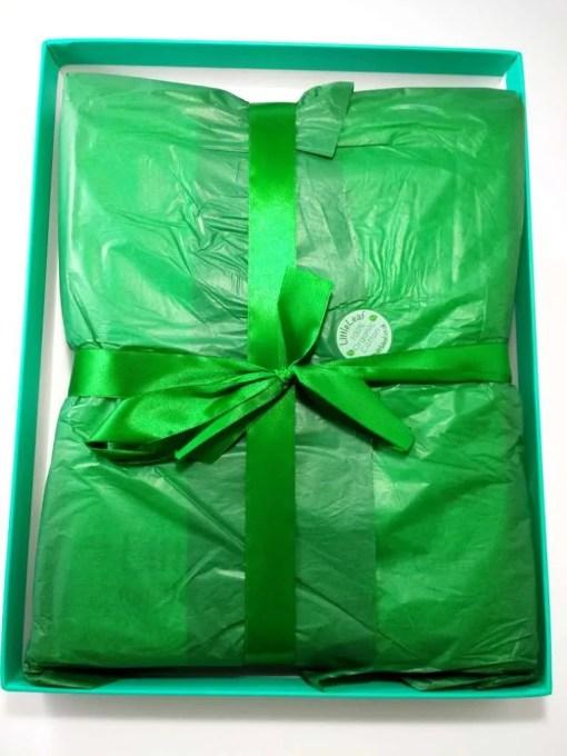 Littleleaf organic cotton gift box tissue paper