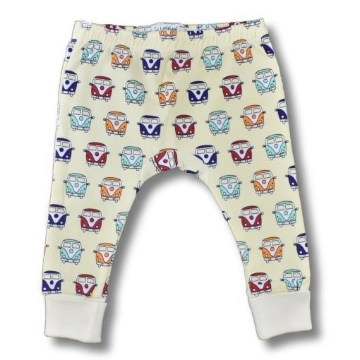 Organic Cotton Camper Van Leggings from LittleLeaf overview picture