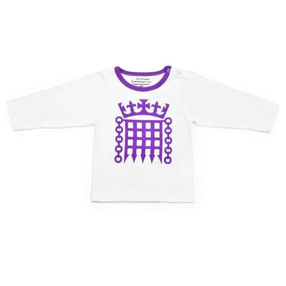 Houses of Parliament Children's Long Sleeve T-Shirt
